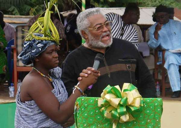 Rawlings: NDC must clean-up or risk 2016
