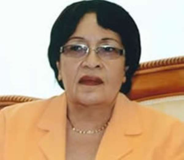 Speaker of Parliament, Mrs Joyce Bamford-Addo