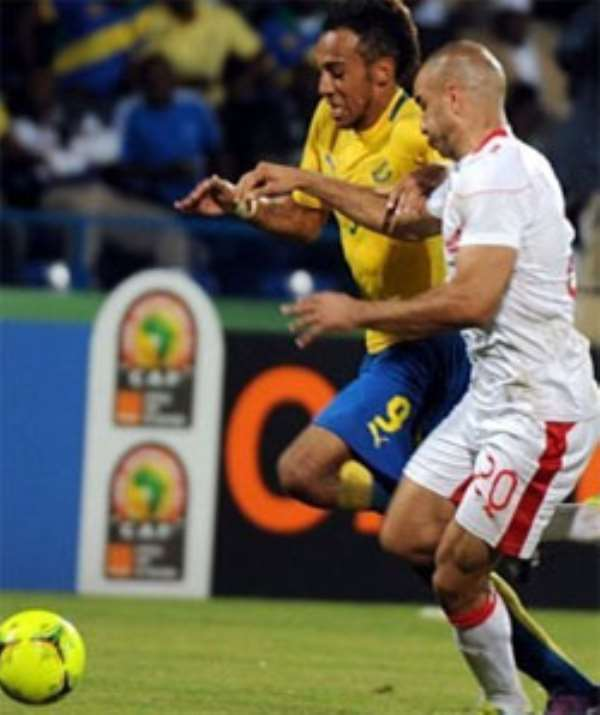 Gabon and Tunisia