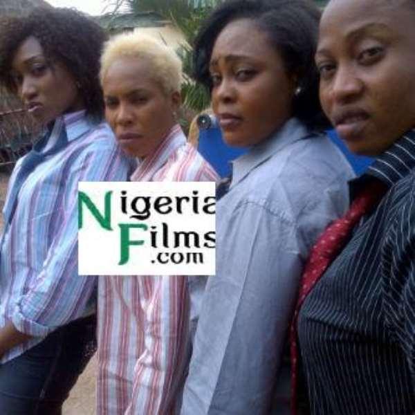 Drama, As Fathia Balogun Drags Oge Okoye To Street
