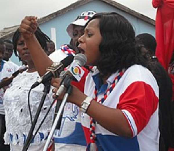 NPP Parliamentary Candidate for Dome/Kwabenya constituency, Adwoa Safo
