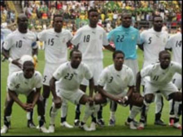 Ghana are playing in the Nations Cup