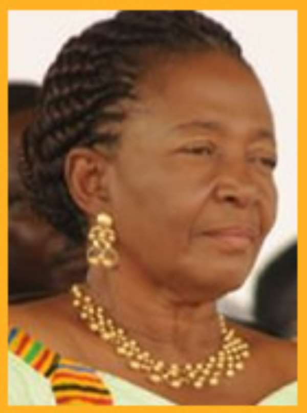 First lady launches book on beads in Koforidua