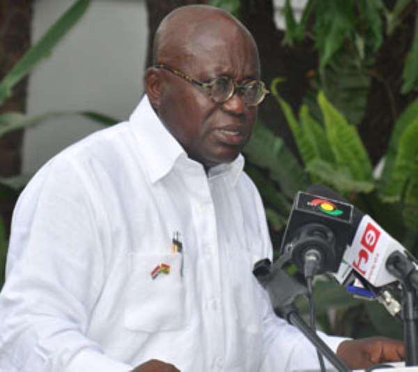 Adams Mahama's Burial Delayed For Nana Addo