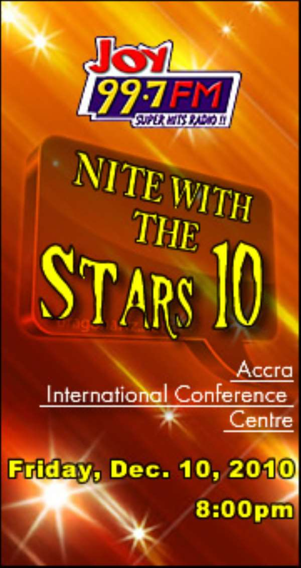 Nite with Stars 2010 – the glitzy party plays