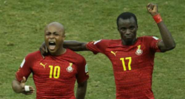Ghana midfielder Rabiu Mohammed touts Andre Ayew's leadership qualities as reasons for 2009 World Cup triumph