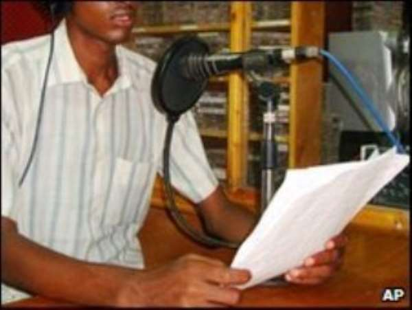 All but two of Mogadishu's 13 radio stations used to broadcast music