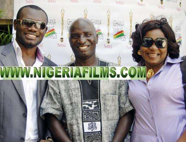 GHANAIAN ACTRESS VIVIAN ACHOR STAR IN NIGERIAN/HOLLYWOOD MOVIE'UNWANTED GUEST'