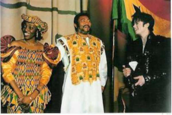 Rawlings pays tribute to Michael Jackson