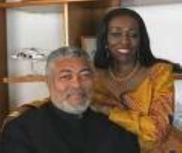 IS NANA KONADU RAWLINGS A MEMBER OF THE NATIONAL DEMOCRATIC CONGRESS?