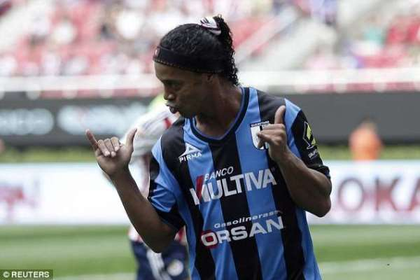 Time up: Ronaldinho set to retire from football
