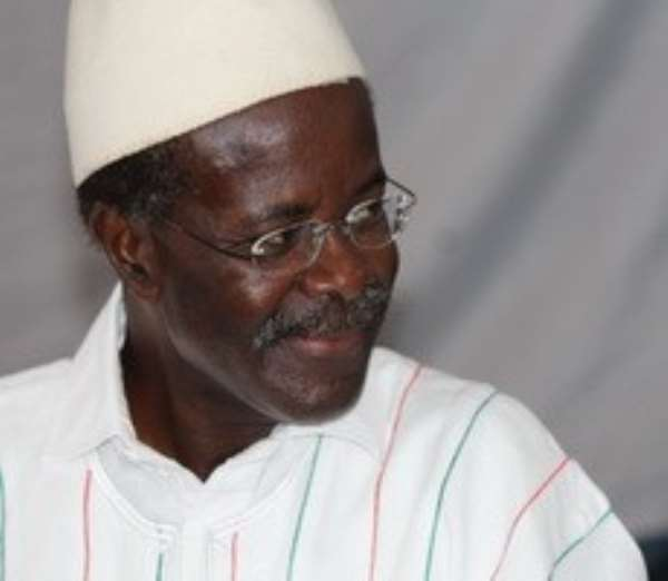 Dr. Paa Kwesi Nduom founded the PPP and was popularly acclaimed to be its flagbearer.
