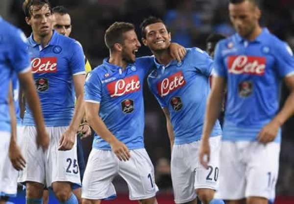 SERIE A Wrap: Lazio second after eighth straight win, Napoli end crisis