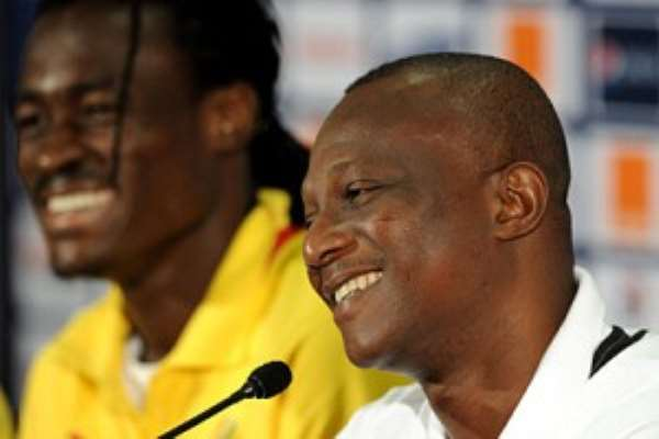 Kwesi Appiah's side Black Stars are in the Group of Death