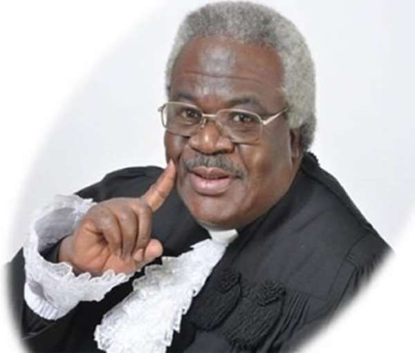 Is Rt. Rev. Prof. Martey Giving Ghanaians Any Good Example?