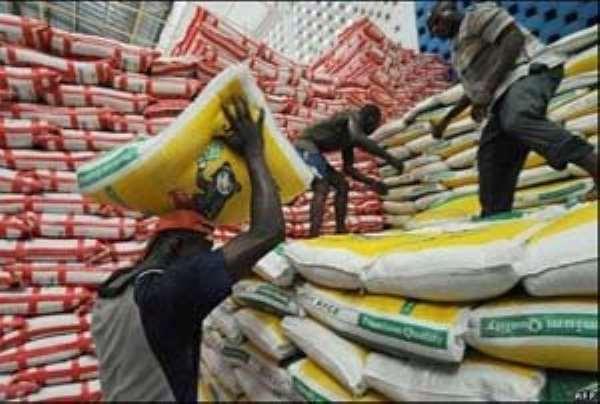 MoTI Tackles Rice Smuggling