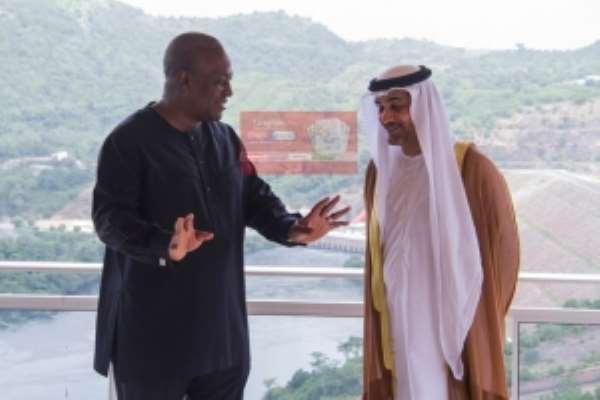 Abu Dhabi gives Ghana $100 million
