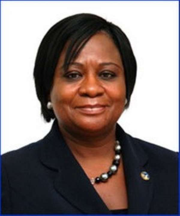 Mrs. Felicity Acquah, MD, Eximguaranty Company Ghana Limited