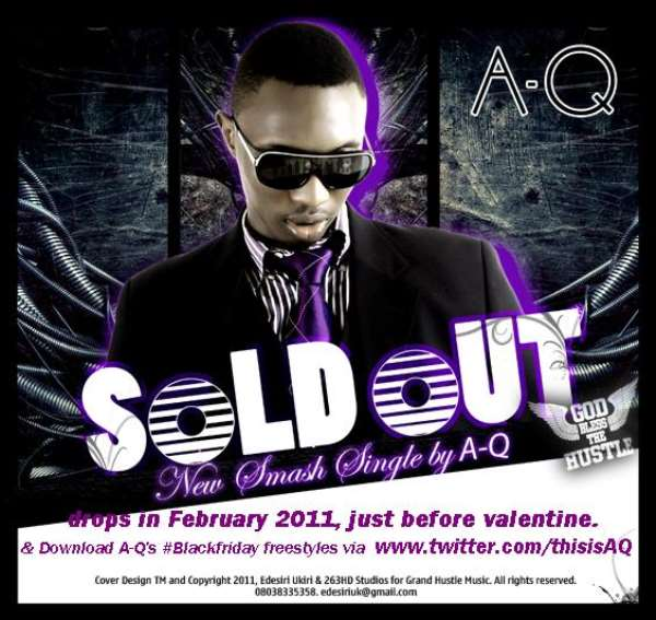 A-Q's Debut Album Sells 15000-Units Worth. Releases First #BlackFriday Freestyle