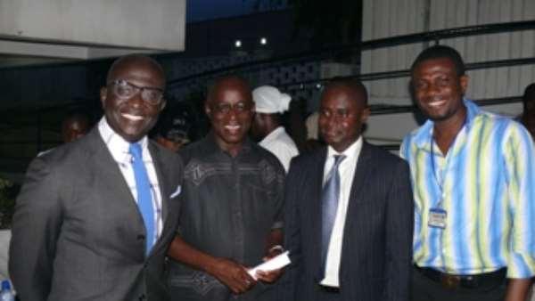 KKD, Ambassador Blay-Amihere, Hon. James Agyenim-Boateng & Mark Okraku Mantey
