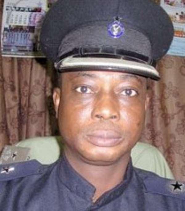 Head of Motor Traffic and Transport Unit (MTTU) of the Ghana Police Service, ACP Angwubutoge Awuni