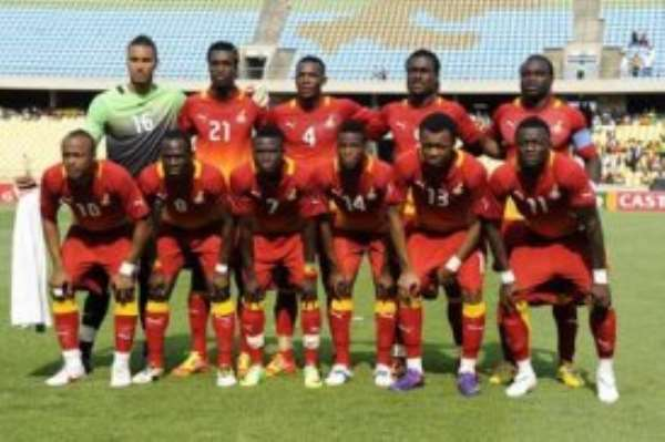 Black Stars squad at the just ended AFCON 2012