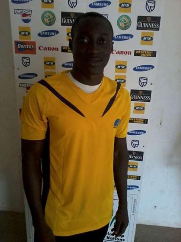 Samuel Adade has been impressive since he joined Medeama