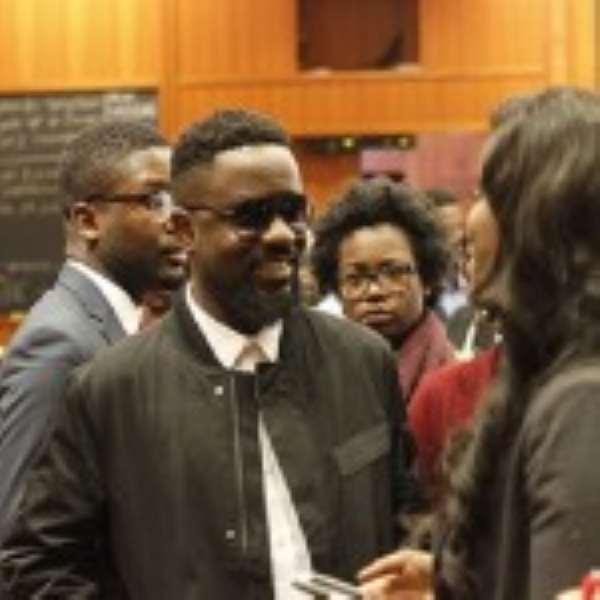 Sarkodie Shares Experience With Harvard University Students [Photos]