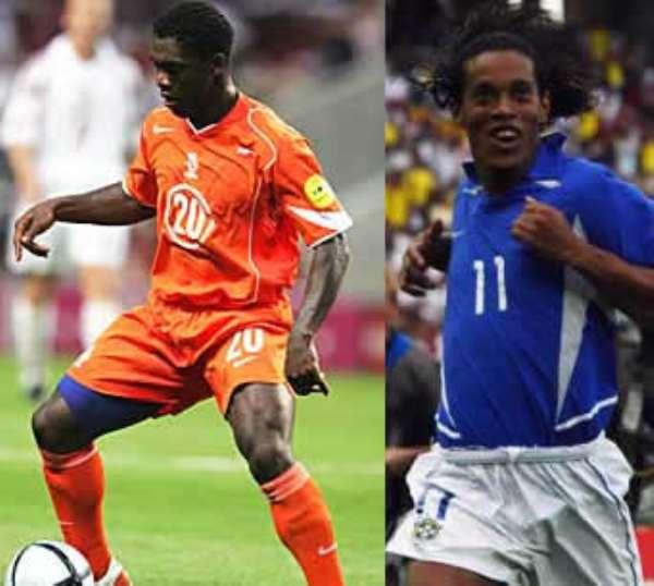 Seedorf warns Ronaldinho…Number 10 is mine