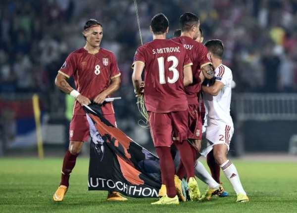 Hooliganism!!! We were 'physically attacked' - Albania captain Lorik Cana