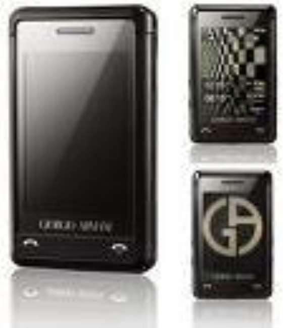Giorgio Armani extends designer touch to phones