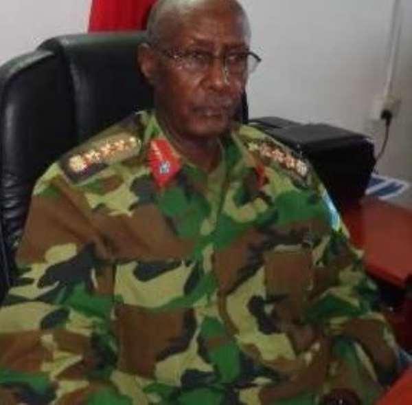 Somali Army Chief, General Dahir Adan Elmi