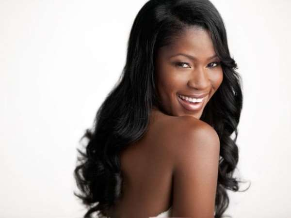 I AM SORRY TO DISAPPOINT YOU BUT AM NOT YET PREGNANT.ACTRESS STEPHANIE OKEREKE