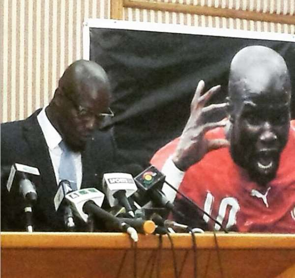 The historic testimonial match for Stephen Appiah will come off on June 27, the former Black Stars captain announced in a grand launch on Monday.