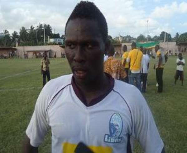 Hearts sign Fiamenyo from Lions