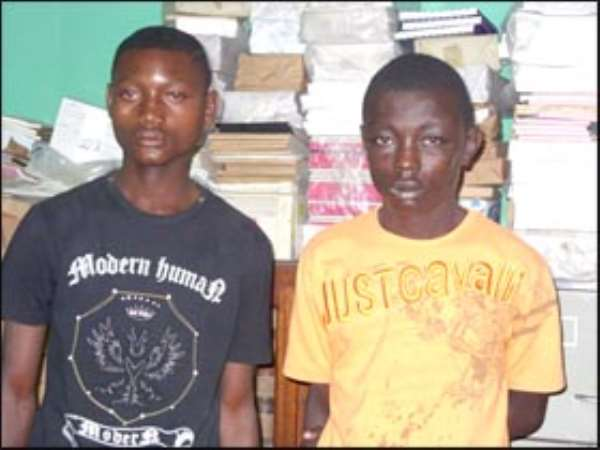 JHS Students Grabbed For Robbery