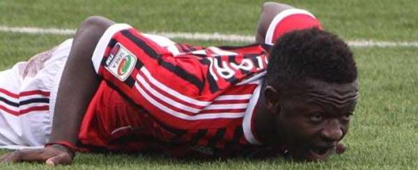 Muntari will miss seria A opener for AC Milan