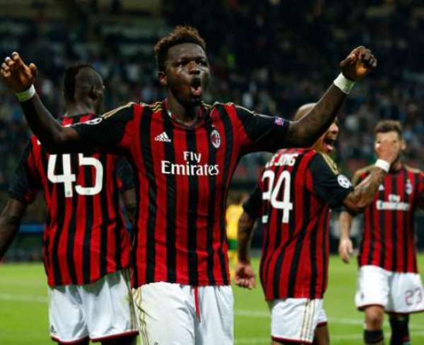 Sulley Muntari makes 50th appearance for Milan
