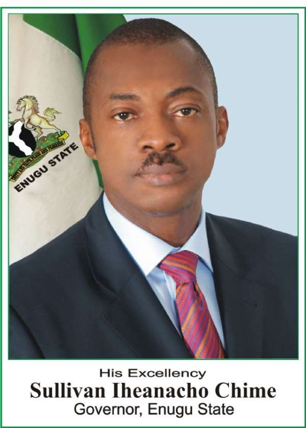 REMOVAL OF OIL SUBSIDY IN NIGERIA: THE ONLY WAY FORWARD.---  Gov. Sullivan I. Chime of Enugu State