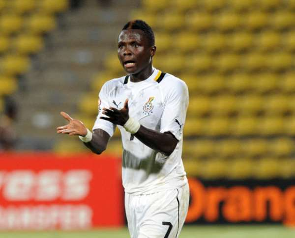 Samuel Inkoom wants to sort out his future in January.