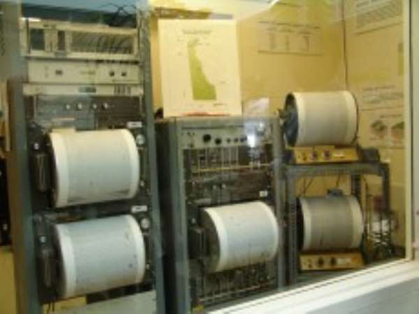 Gov't releases $3m for earth tremor recording device