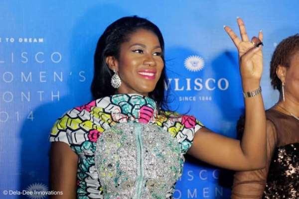 Checkout Stephanie Okereke's 'Mon Ami' Dress At The Vlisco Women's Month Award