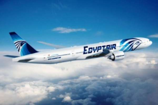 An Egypt Airline plane was expected to arrive yesterday evening and leave with the 266 pilgrims this morning.