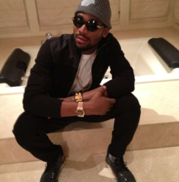 Why D'banj Wear Two Wrist Watches