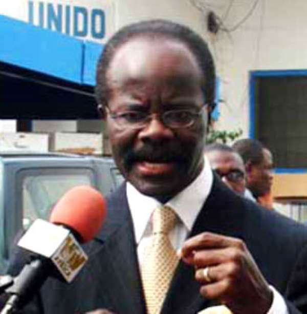Nduom off to Canada