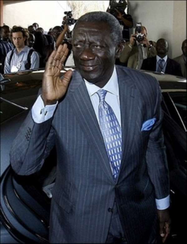 Kufuor Vote Critical To Clear Himself—Apraku