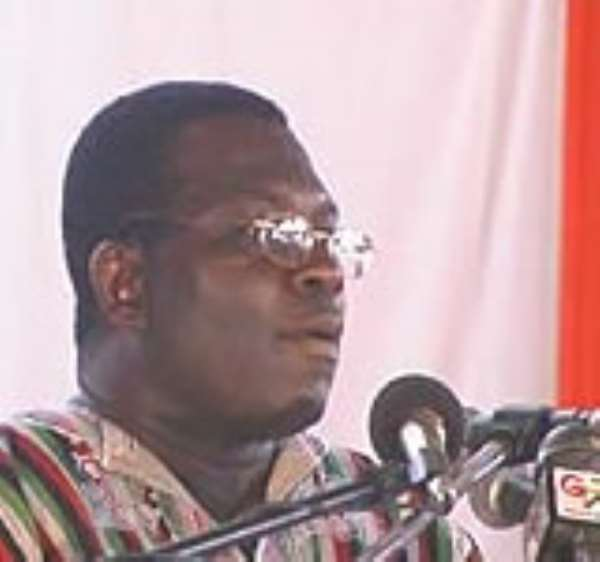 Dr. Josiah Aryeh, former General Secretary of the NDC