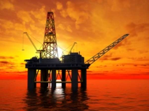 Ghana celebrates first oil pour