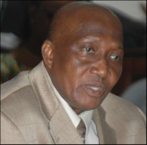 Mr Kofi Poku Manu, Ashanti Regional Minister