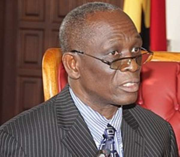 Former Education and Sports Minister, Osafo Maafo